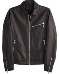Marc By Marc Jacobs Leather Jacket - Lyst