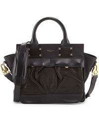 Rag & Bone Pilot Small Leather Satchel Bag - Lyst