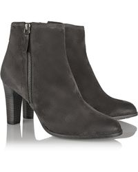 NDC Tess Sonia Suede Ankle Boots - Lyst