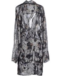 Isabel Marant Short Dress black - Lyst