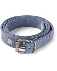 Massimo Alba - Studded Belt - Lyst