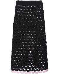 Sister by Sibling | Crochet Knit Skirt | Lyst