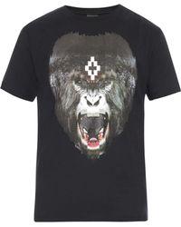 Marcelo Burlon San Martin Printed T-Shirt - Lyst