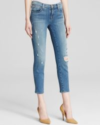 J Brand Jeans - Mid Rise Cropped Skinny In Pulse - Lyst