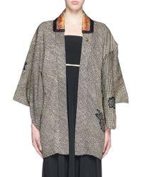 Ibrigu - One Of A Kind Jewel Brooch Brocade Kimono - Lyst
