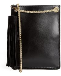 Asos Leather Mini Messenger Bag - Lyst