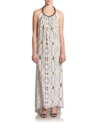 Ramy Brook Taryn Printed Maxi Dress - Lyst