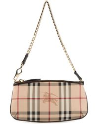Burberry London Haymarket Check Shoulder Bag - Lyst