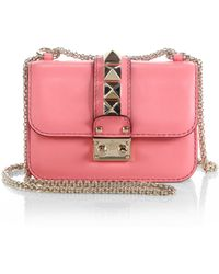 Valentino Rockstud Lock Mini Shoulder Bag - Lyst