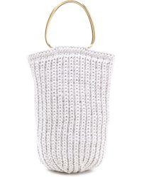 Derek Lam Knit Handbag  - Lyst