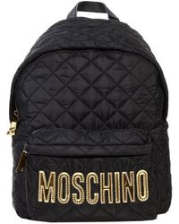 Moschino Handbag Nylon Quilted Backpack - Lyst