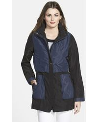 Rainforest - Colorblock Hooded Jacket - Lyst