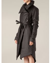 Lost & Found - Padded Wrap Coat - Lyst
