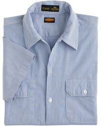 J.Crew Dickies® X Palmer Trading Co.™ Short-Sleeve Japanese Cotton Workshirt - Lyst