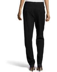 Alexander Wang Pleated Ponte Pants - Lyst