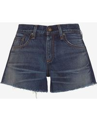 Rag & Bone | /jean Torrington Bf Cut Offs | Lyst