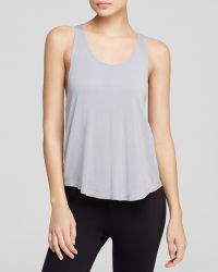Yummie By Heather Thomson Nadia Racerback Muscle Tank - Lyst