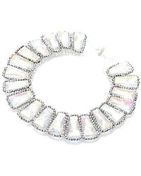 Nakamol - Louella Crystal Necklace-Clear - Lyst