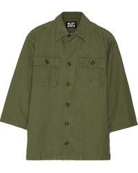 NLST Cotton Jacket - Lyst