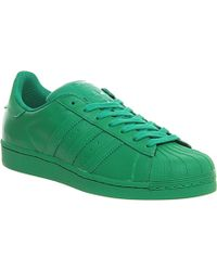 adidas - Pharrell Supercolor Superstar 1 Trainers - For Men - Lyst
