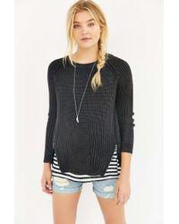 Olive & Oak - Zippered Sweater - Lyst