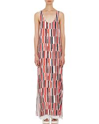 Edun Abstract Geo Long Tank Dress - Lyst