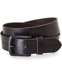 Marc New York | Leather Carburator Belt | Lyst