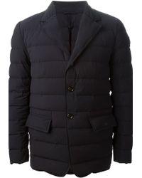 Moncler Black 'Deydier' Padded Jacket - Lyst