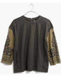 Madewell Green Forestdream Pullover - Lyst