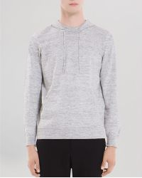 Sandro Moonlight Hooded Pullover Sweatshirt - Lyst