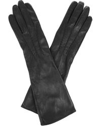 Oasis - Leather Longer Line Glove - Lyst