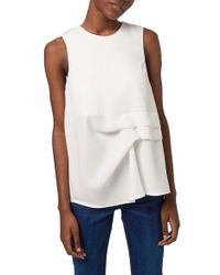 Topshop | Gathered Shell Top | Lyst