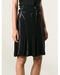 Jean Paul Gaultier Kilt Inspired Skirt - Lyst