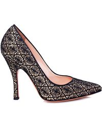 Palter Deliso - Kiss Pump in Gold - Lyst