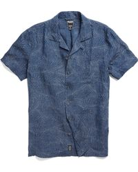 Todd Snyder | Laight Street In Blue Print | Lyst