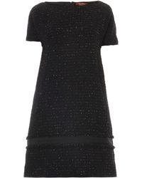 Max Mara Studio Black Ove Dress - Lyst