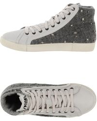 Springa High-tops Trainers - Lyst