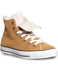 Converse All Star Double-tongue High-top Trainers - Lyst