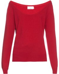 Raey | Off-the-shoulder Cashmere Sweater | Lyst