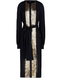 DSquared² 3/4 Length Dress black - Lyst