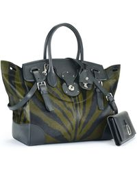 Ralph Lauren Haircalf Soft Ricky Bag - Lyst