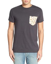 Ames Bros | . 'versus' Pocket T-shirt | Lyst