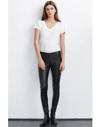 Velvet By Graham & Spencer | Berdine Faux Leather Leggings | Lyst