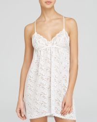 In Bloom By Jonquil Elise Burnout Knit Chemise - Lyst
