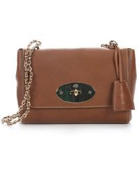 Mulberry Oak Leather Lily Shoulder Bag - Lyst
