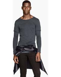 H&M Longsleeved Tshirt - Lyst