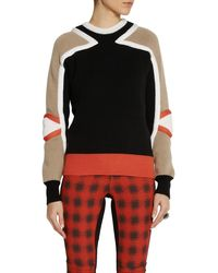 Etro Maglia World Traveller Colorblock Wool Sweater - Lyst