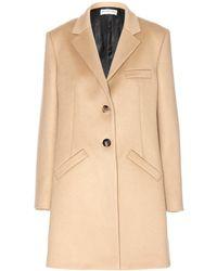 Balenciaga Woolblend Coat - Lyst
