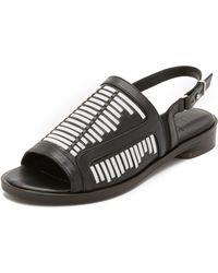 Thakoon Addition - Taylor Flat Sandals - Lyst