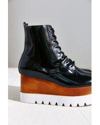 Jeffrey Campbell Black Kreppel Boot - Lyst